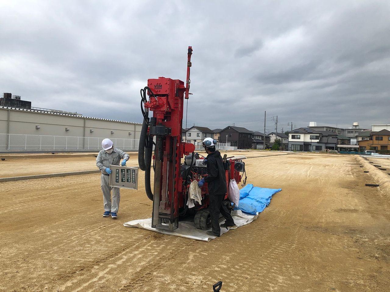 半田市乙川大規模分譲地 開発工事進行状況! Part2