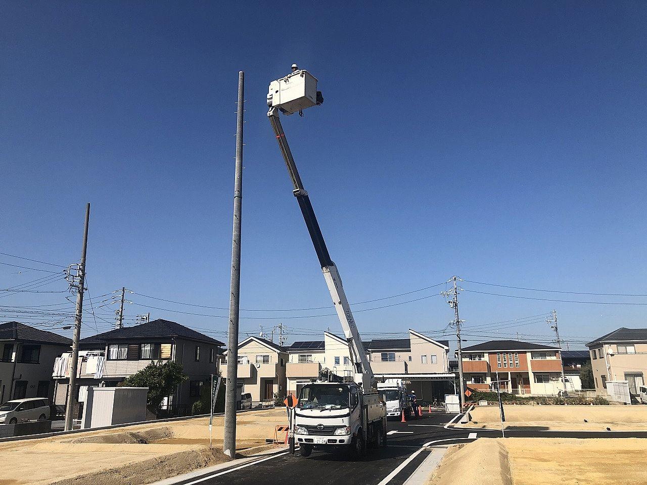 半田市乙川大規模分譲地 開発工事進行状況! Part3