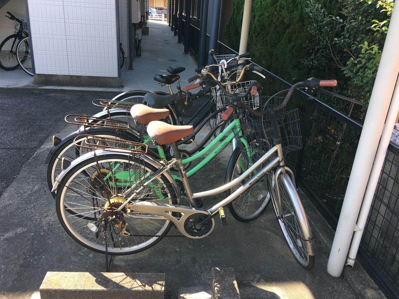 放置自転車撤去・処分してきました!!