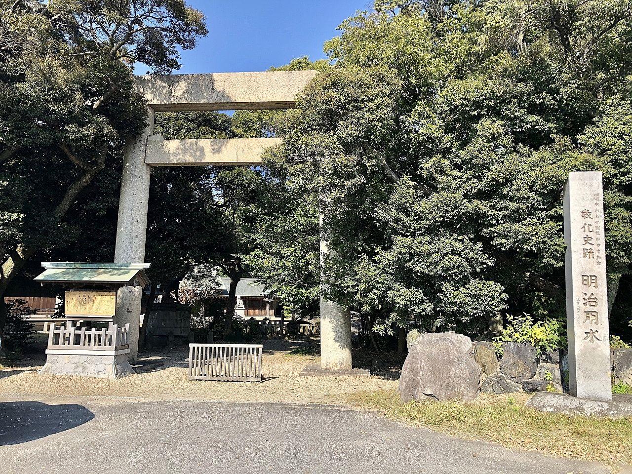 明治川神社(安城市)