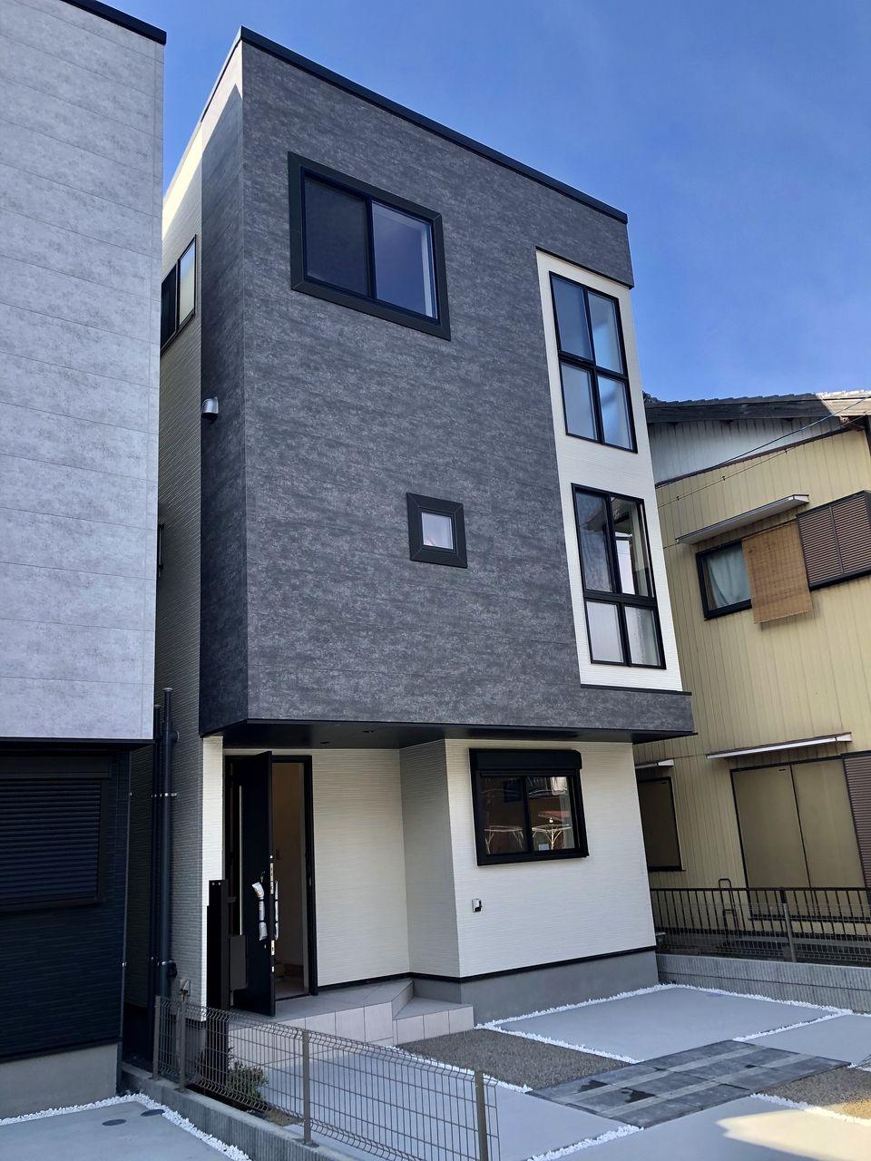 三栄建築設計の新築分譲住宅です。