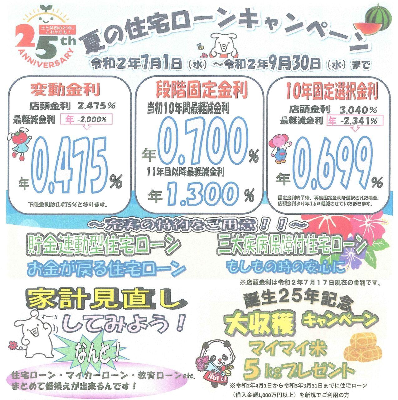 使える住宅ローン(JAあいち中央)