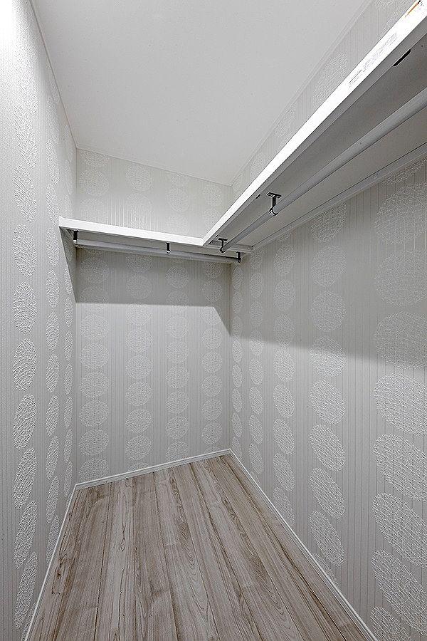 2階の居室には全てウオークインクローゼットが付いています。