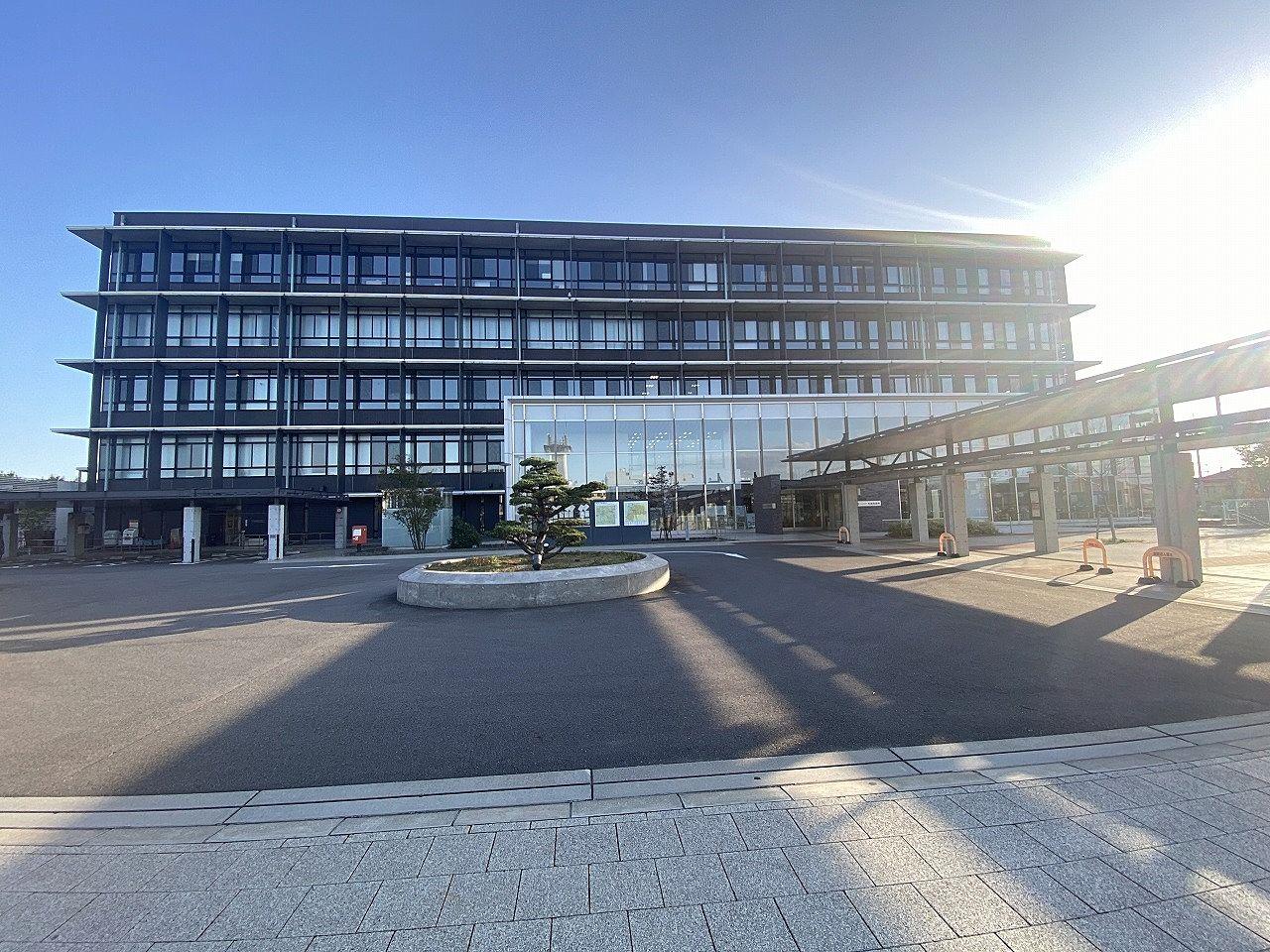 2015年1月 新庁舎になりました。