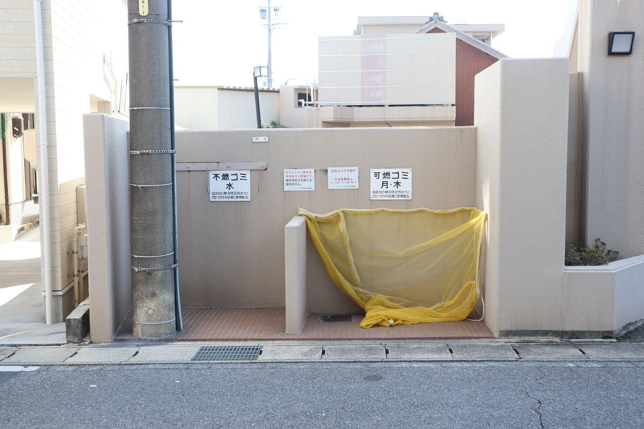 マンションのゴミ置場は住民の方のモラルが出やすいところ。ぜひ、チェックして下さい。