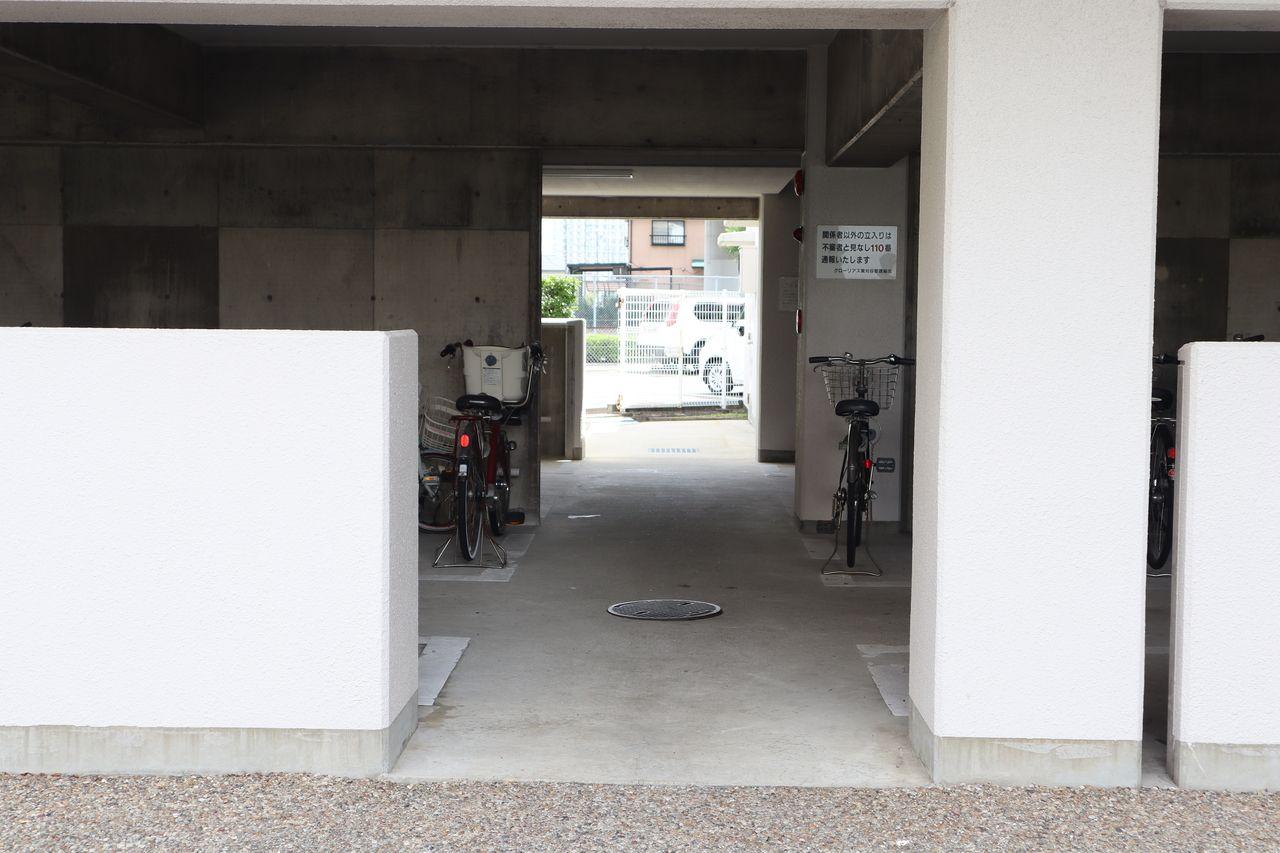 自転車置き場は他にも複数あります。